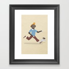 SlothTin Framed Art Print