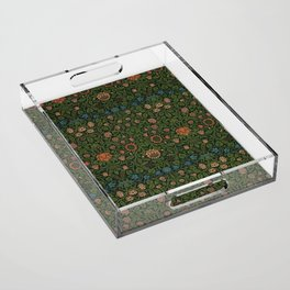 Violet and Columbine - William Morris Acrylic Tray