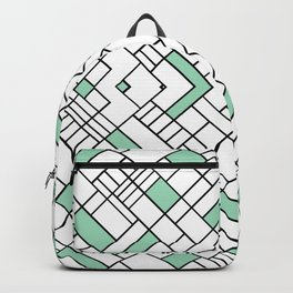 PS Grid 45 Mint Backpack