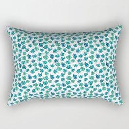 Tropical leaves pattern Rectangular Pillow