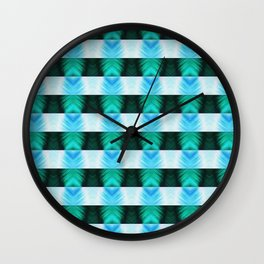 The Lazy Light Pattern Collection NO.12 Wall Clock