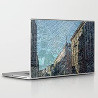 vienna Laptop & iPad Skins featuring Vienna on Maps by MehrFarbeimLeben