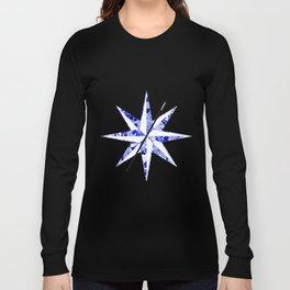 Compass Logo Diamond Long Sleeve T-shirt