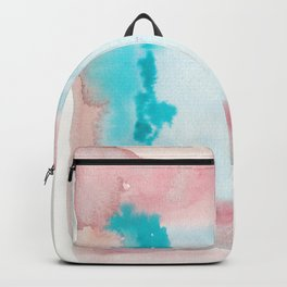 180815 Watercolor Rothko Inspired 9| Colorful Abstract | Modern Watercolor Art Backpack