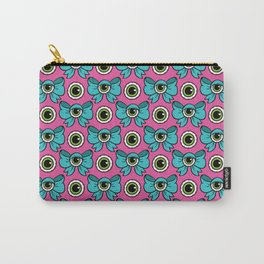 Eyeball Bow Pattern Carry-All Pouch