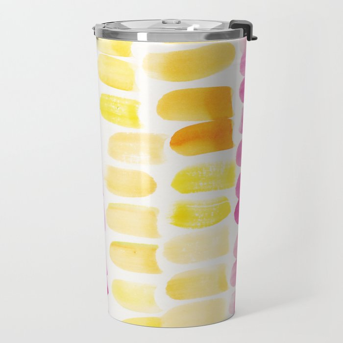 2    | 191128 | Abstract Watercolor Pattern Painting Travel Mug