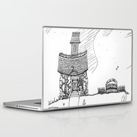 bauhaus Laptop & iPad Skins featuring Anti-Bauhaus by boondock
