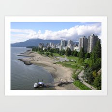 English Bay Art Print