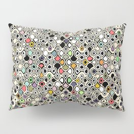 cellular ombre Pillow Sham