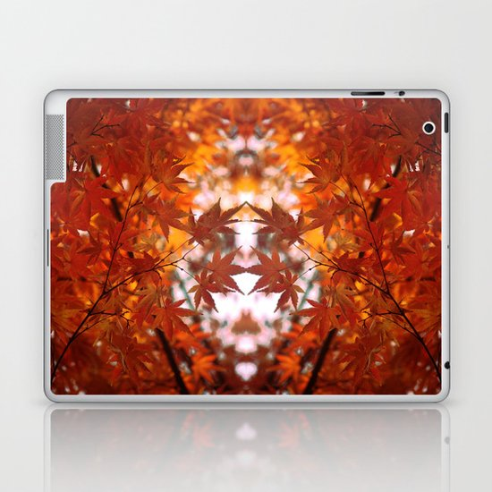engulfed in flame Laptop & iPad Skin