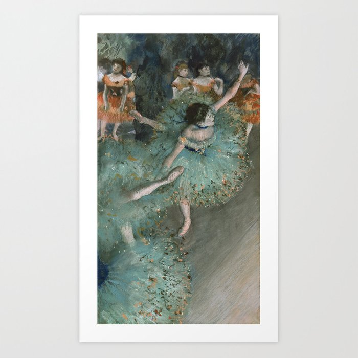 Swaying Dancer - Edgar Degas Art Print