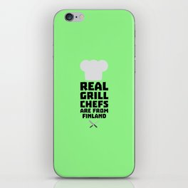 Real Grill Chefs are from Finland T-Shirt Dkwx2 iPhone Skin