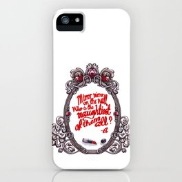 Who is the naughtiest of them all? iPhone Case