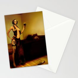 """""""The bad customer"""" Stationery Cards"""