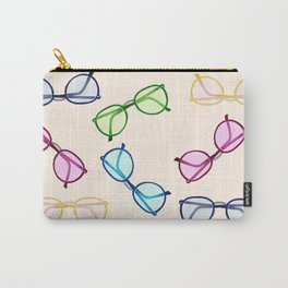 Spectacles Eyes Carry-All Pouch