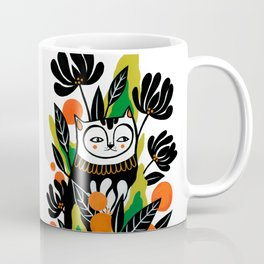 Mossy Cat Coffee Mug