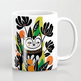 Mossy Cat Coffee Mug
