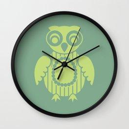 Owl 2 Wall Clock