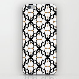 Poignant Penguins iPhone Skin