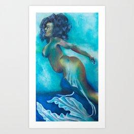 Deep Majik Art Print