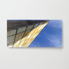 Blue Sky Project - Zaragoza Metal Print