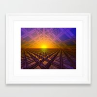 stargate Framed Art Prints featuring Stargate by Phil Perkins