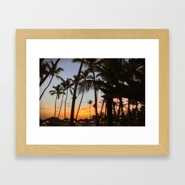 punta cana // the dominican republic Framed Art Print