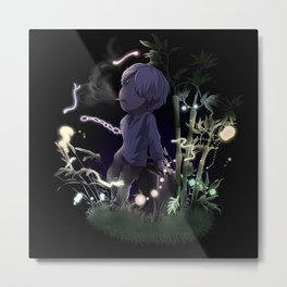 Evening with Nature Metal Print