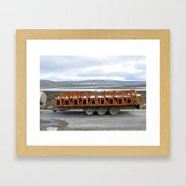 take a pew Framed Art Print