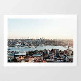 Perfect Turkish Sunsets - Istanbul, Turkey Art Print