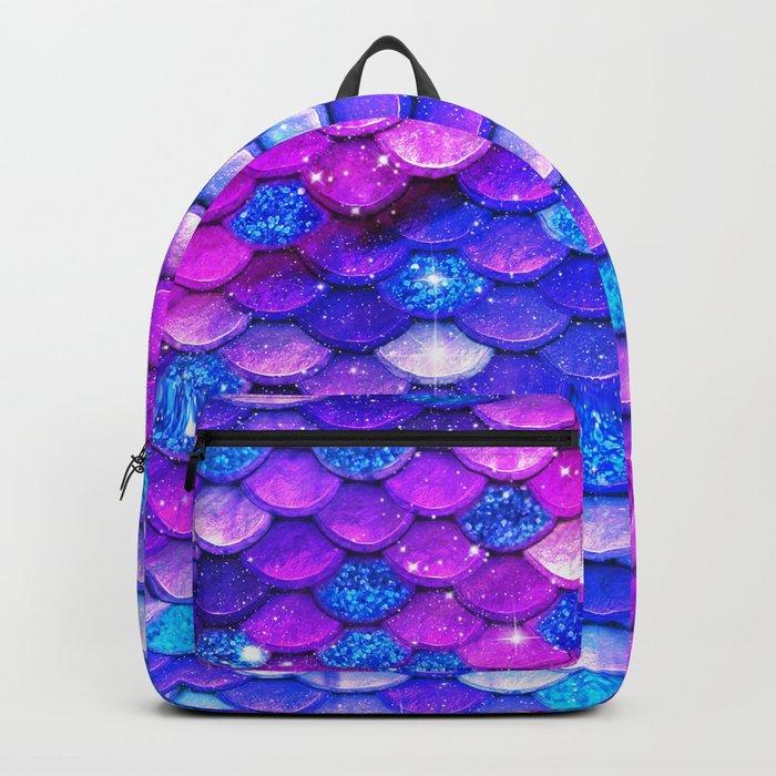 Mermaid Bubblegum Scales Backpack