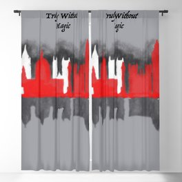 No London is Truly Without Magic - A Darker Shade of Magic Blackout Curtain
