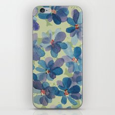 Floral Watercolor iPhone & iPod Skin