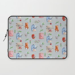 Unusual couples Laptop Sleeve