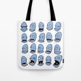 Kalle Hizz moods Tote Bag