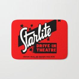 Starlite Drive In Red Bath Mat
