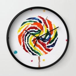 """""""Lollipop"""" Wall Clock"""