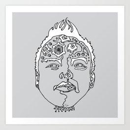 sketch 24 Art Print