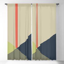 bandana    camou & coral Blackout Curtain