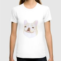 frenchie T-shirts featuring Frenchie by belgoldie