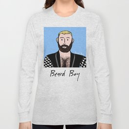 Beard Boy: Alberto Long Sleeve T-shirt