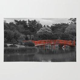 The Red Bridge (Higher Contrast) Rug