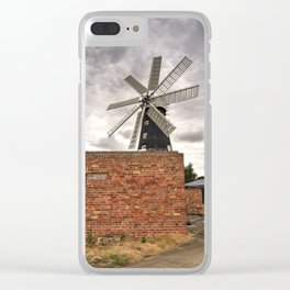 Heckington Mill Clear iPhone Case