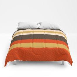 Retro Zigzag Geometric Pattern Comforters