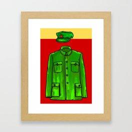 Chairman Mao Framed Art Print
