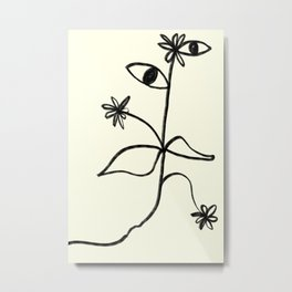 MISTER PLANT Metal Print