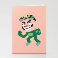 gizmo Stationery Cards featuring Gizmo by Adrian Mentus