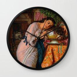 "William Holman Hunt ""Isabella and the Pot of Basil"" Wall Clock"