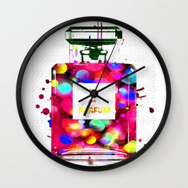 Eau de Parfum Bubbles Wall Clock