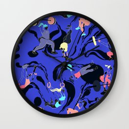 Crossfit Girls Wall Clock